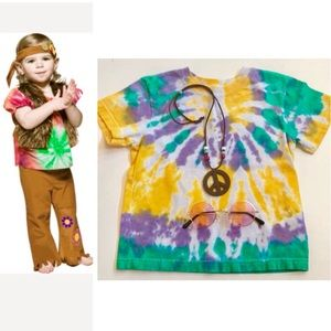 Other - Hippie DIY Costume - Shirt, Glasses & Peace Sign